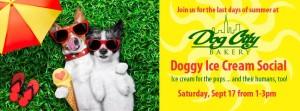 Doggy Ice Cream Social