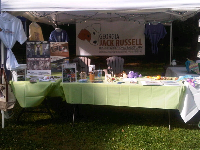 Jack Russell Booth at SweetWater 420 Fest