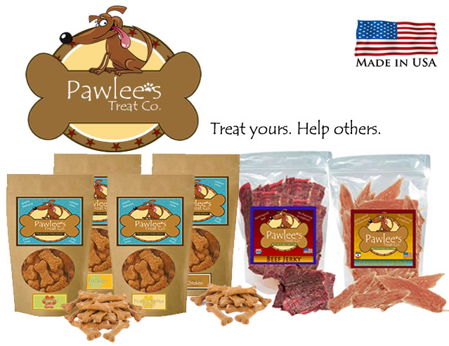 Pawlee's Treat Co. - Treat yours. Help others.
