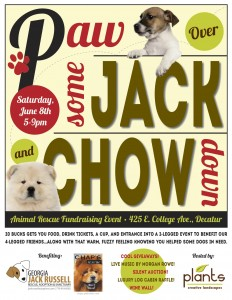 Paw Over Some Jack and Chow Down Fundraiser