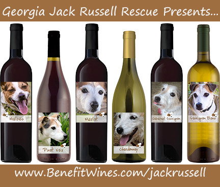 Georgia Jack Russell Rescue presents ... www.benefitwines.com/jackrussell