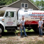 Kelsey and Colin Davis of Advanced Plumbing