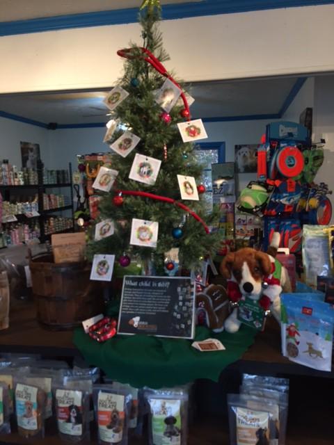 Angel Tree at Tucker Pet Supply