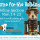 Home for the Holidays Online Auction