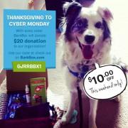 BarkBox Special Thanksgiving Weekend