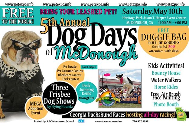 5th Annual Dog Days of McDonough