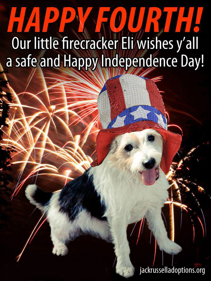Happy Fourth of July from Eli