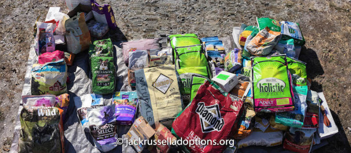 Food donation from Rucker Pet