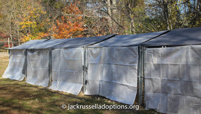 Covered kennels