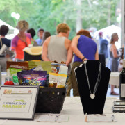 There were so many great items in this year's silent auction -- all donated by wonderful sponsors with all proceeds going to the dogs.