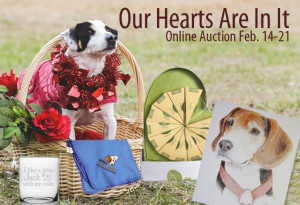 Our Hearts Are In It online auction
