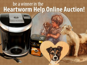 Be a winner in the Heartworm Help Online Auction!