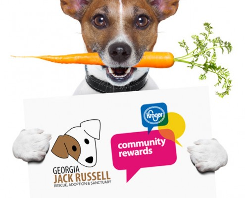 Earn Kroger Rewards for Jack Russell Rescue