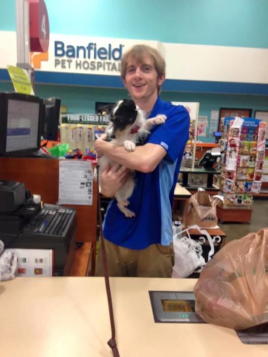 Penelope at PetSmart