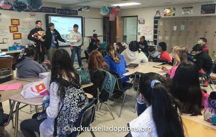 Classroom full of animal advocates!