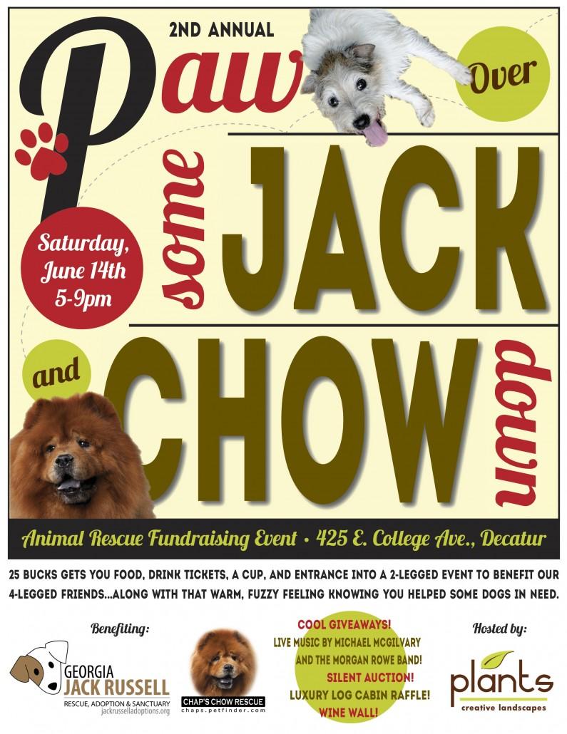 Jack Chow Fundraiser Flyer