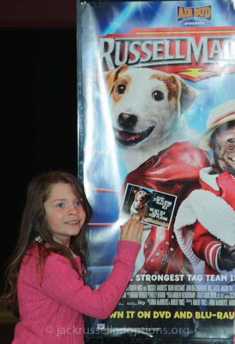 Russell Madness moviegoers