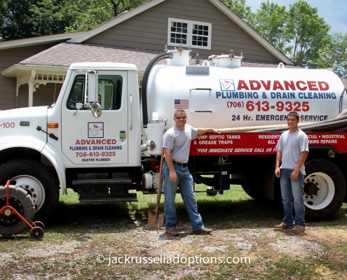 Advanced Plumbing of Athens donated their services when our septic system went haywire.