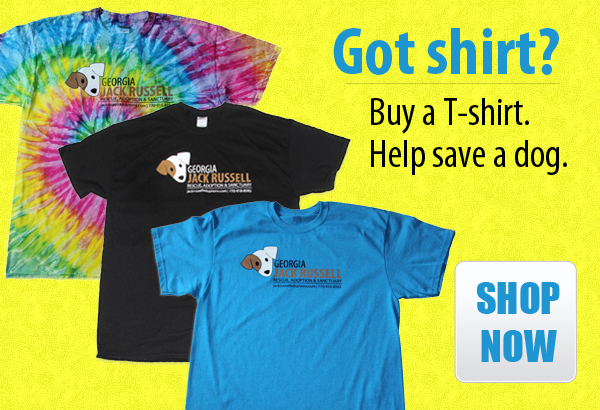 Got T-shirt? Buy a shirt, save a dog.