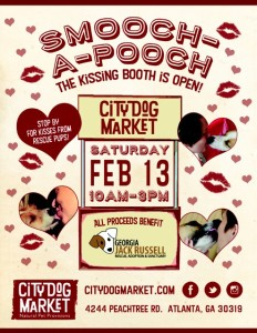 Smooch-a-Pooch Kissing Booth