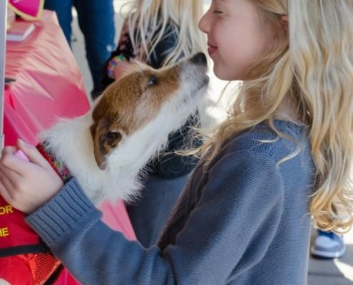 Smooch a Pooch at City Dog Market