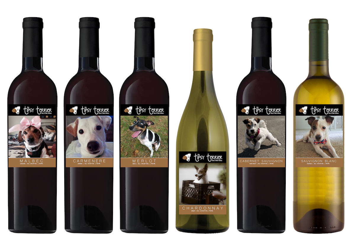 Tipsy Terrier wines