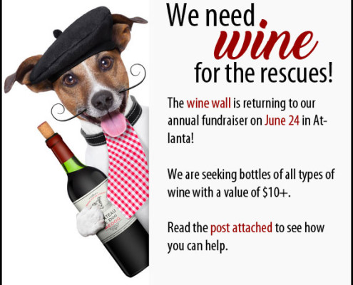 Wine Wall - Jack/Chow Fundraiser